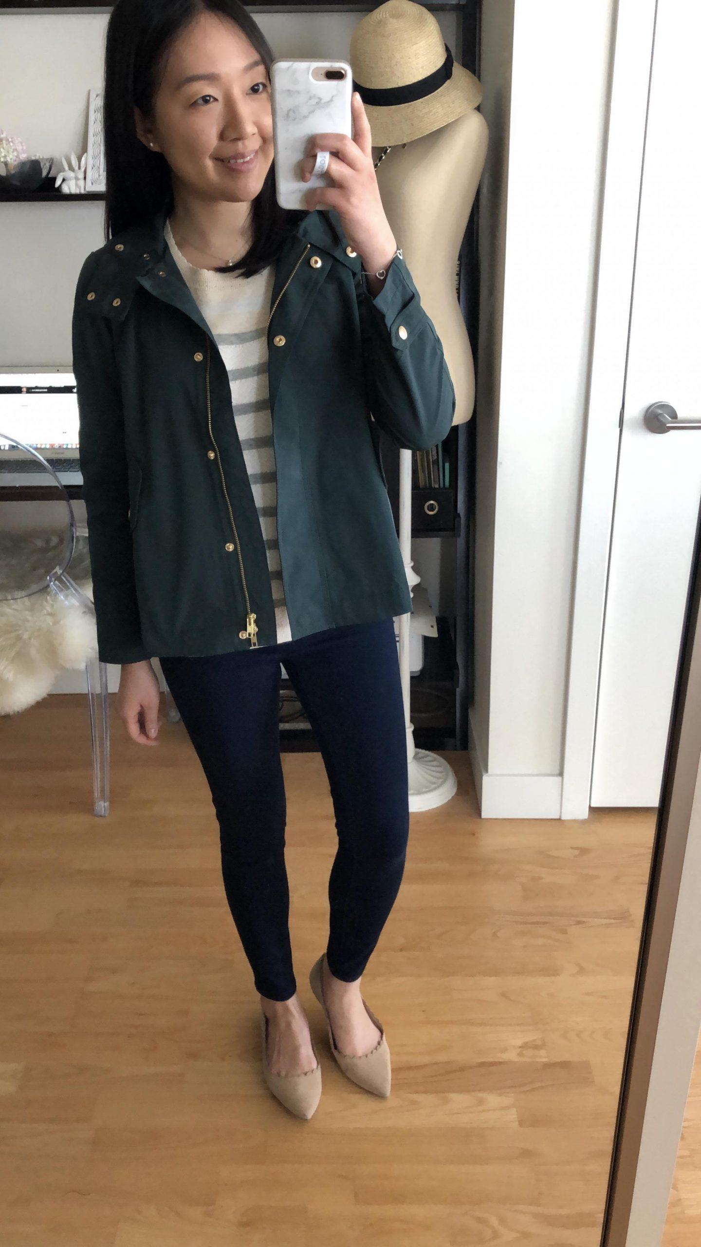 LOFT Modern Raincoat, size XSP