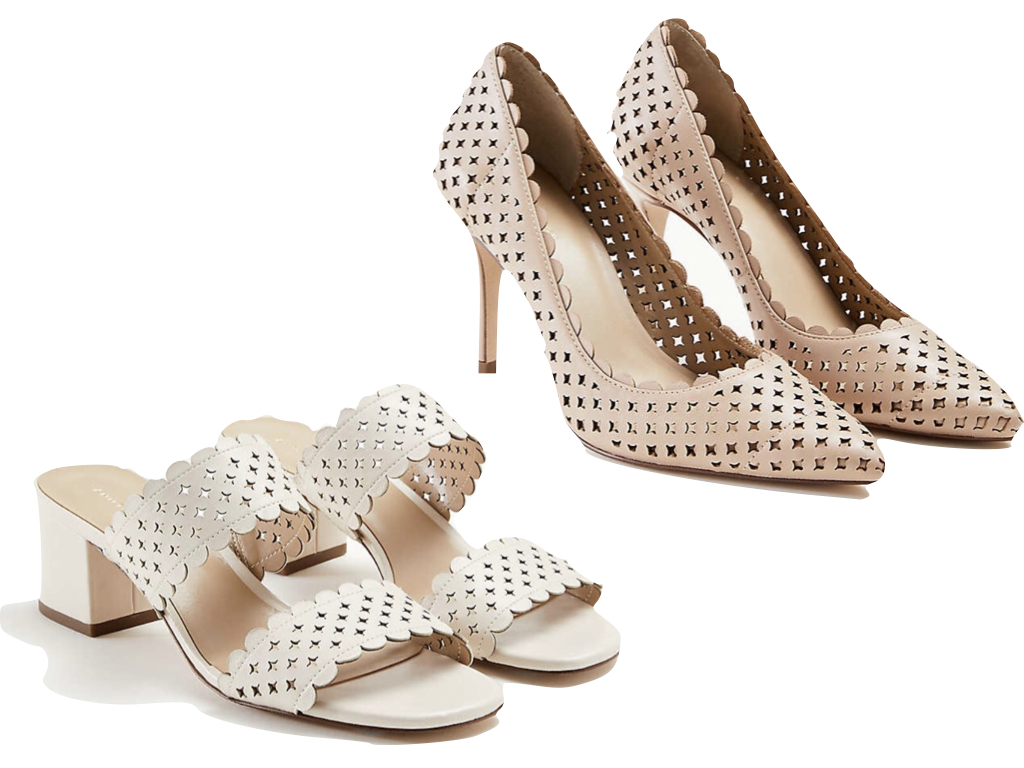 Ann Taylor Perforated Heels