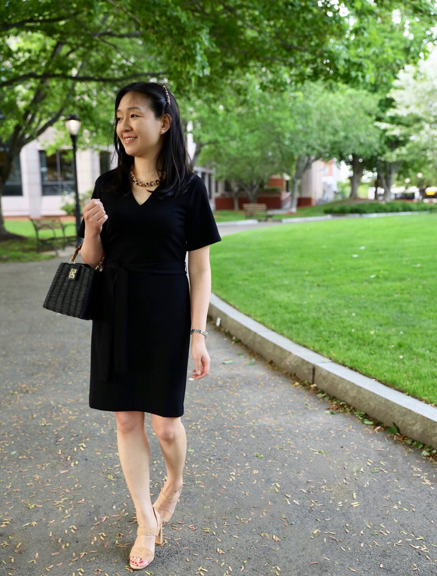 Ann Taylor Kimono Flare Dress