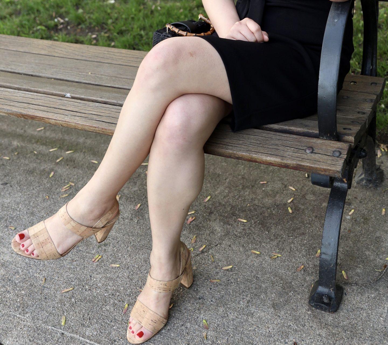 Lorna Cork Heeled Sandals