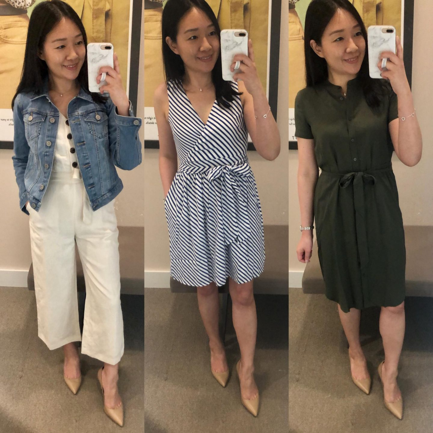 LOFT Fitting Room Reviews on www.whatjesswore.com