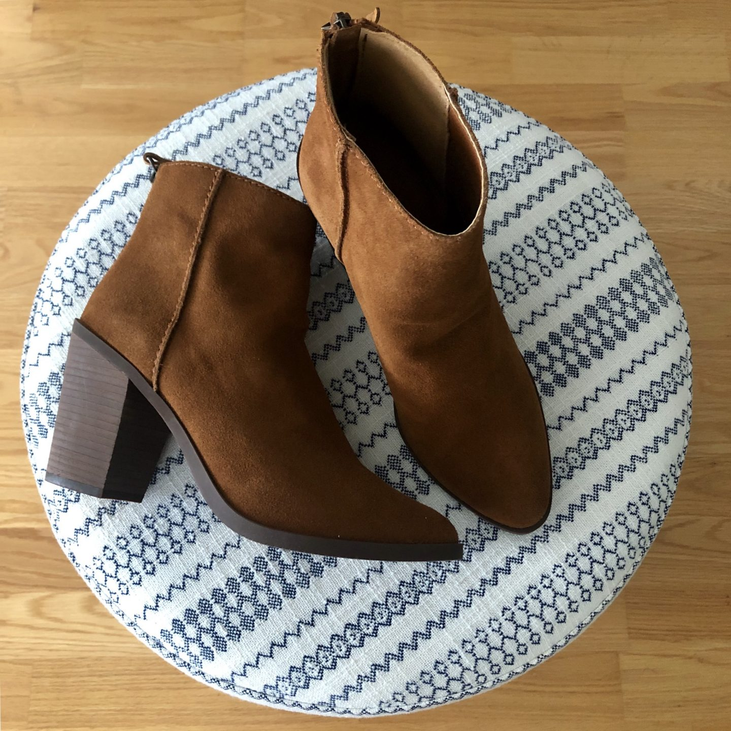 BP. Heath Bootie in cognac