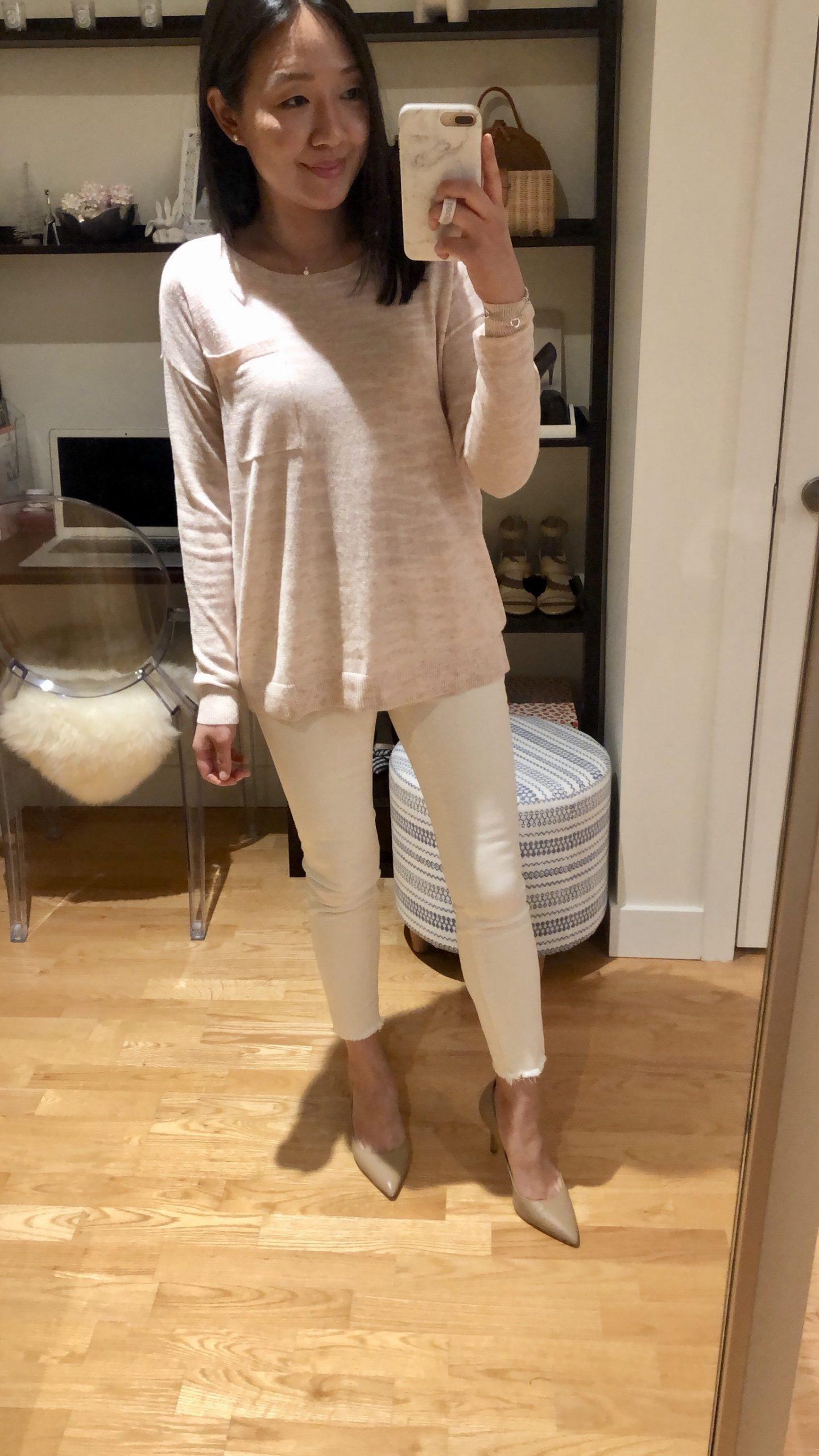 LOFT Pocket Sweater, size XXS regular