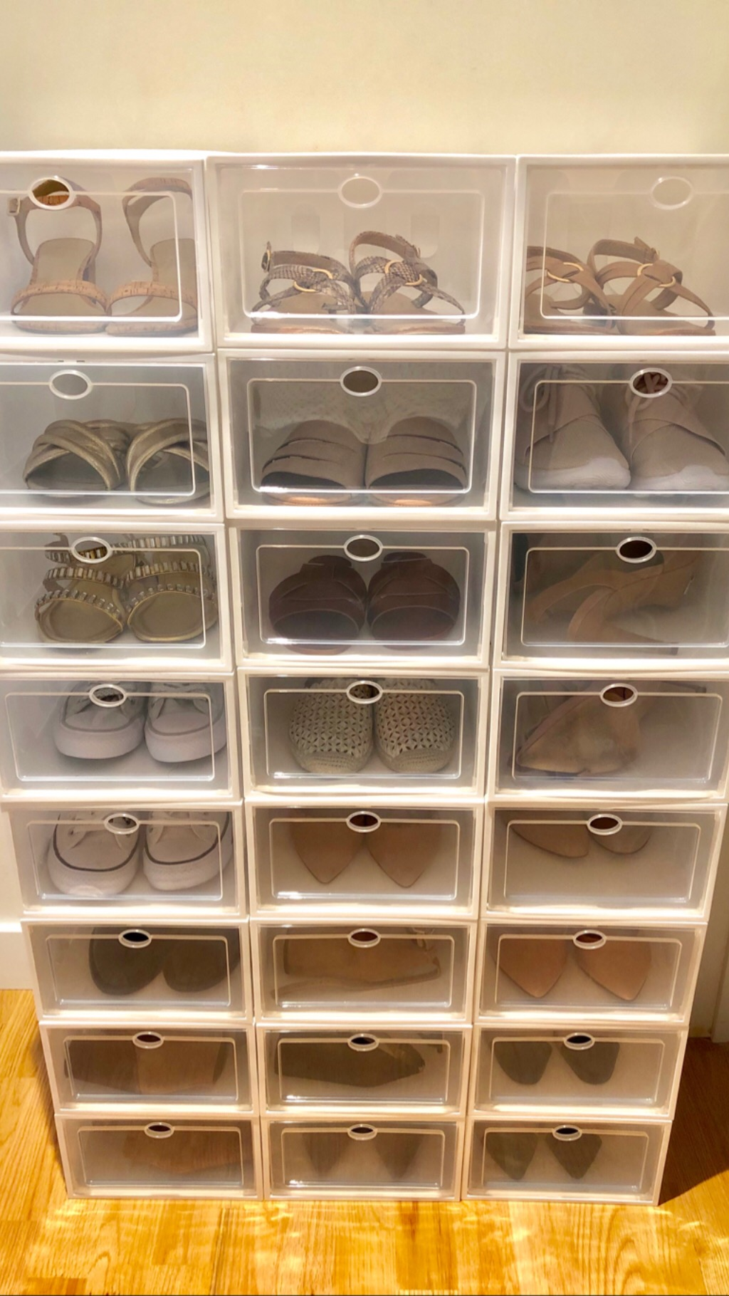 Ironland Stackable Plastic Shoe Storage