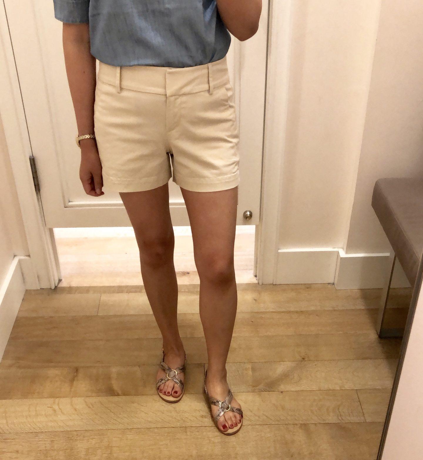 LOFT Riviera Shorts with 4 Inch Inseam, size 24/00 regular