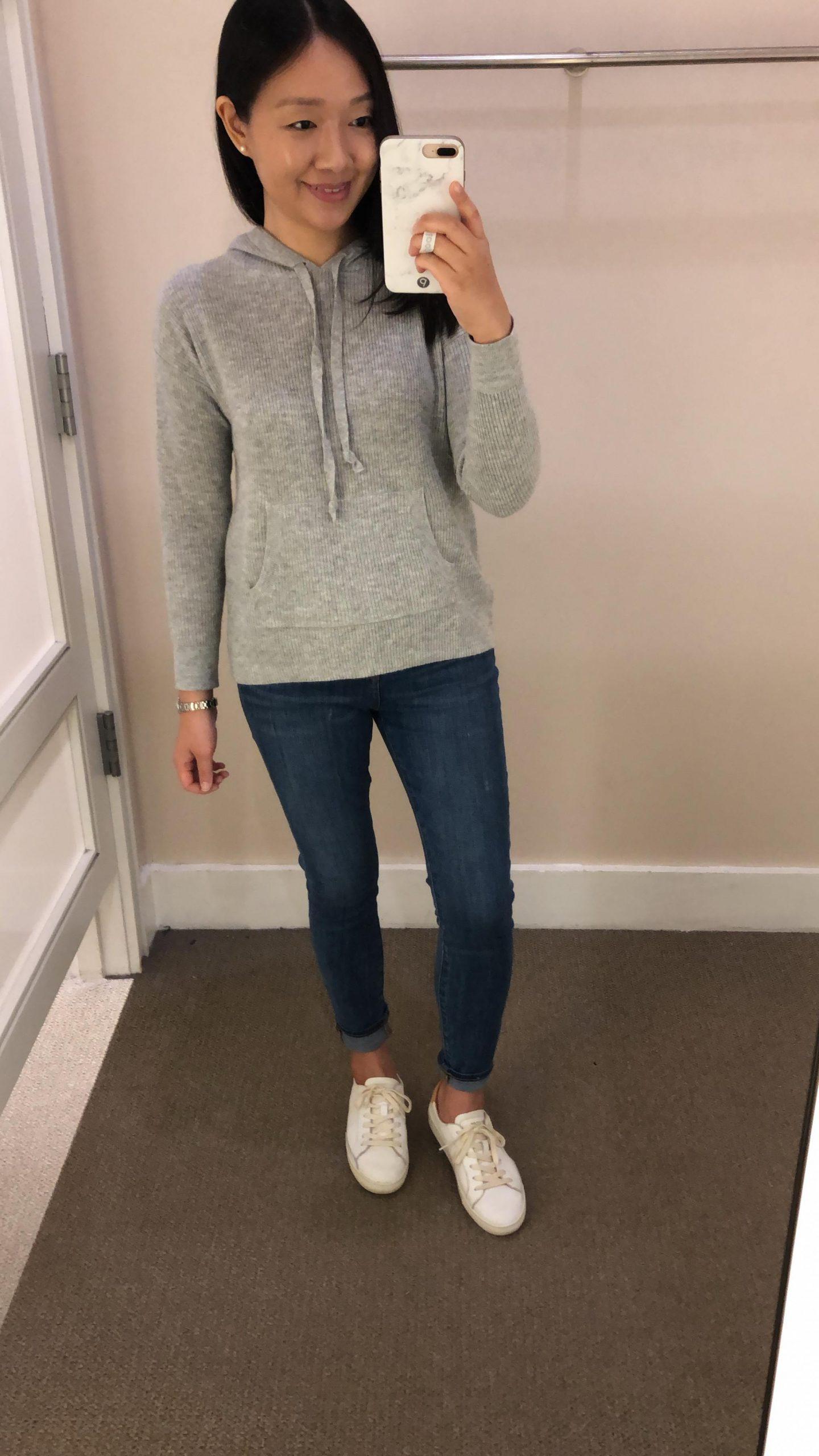 LOFT Hoodie Sweater, size XSP