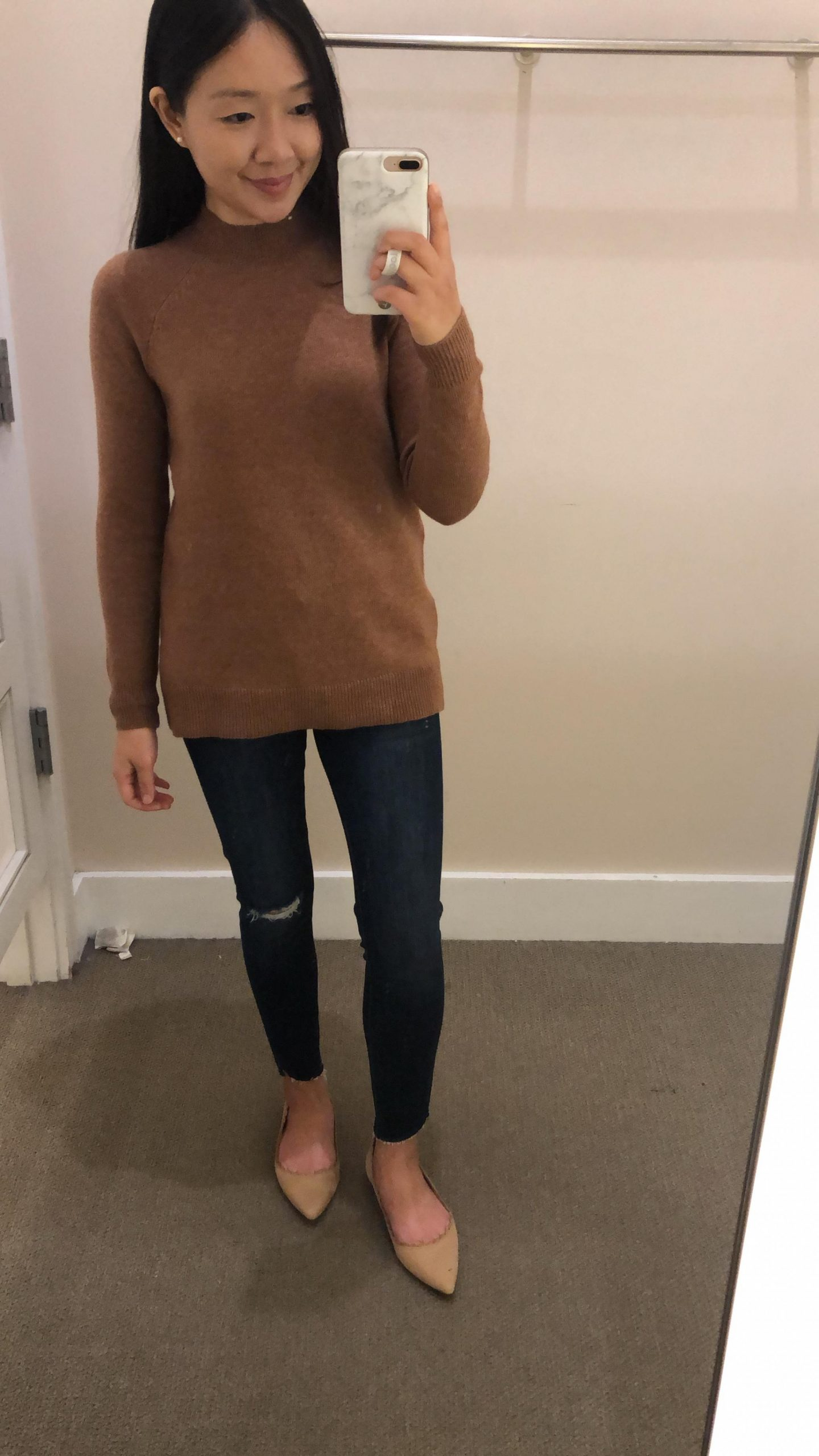 LOFT Mock Neck Sweater, size XSP