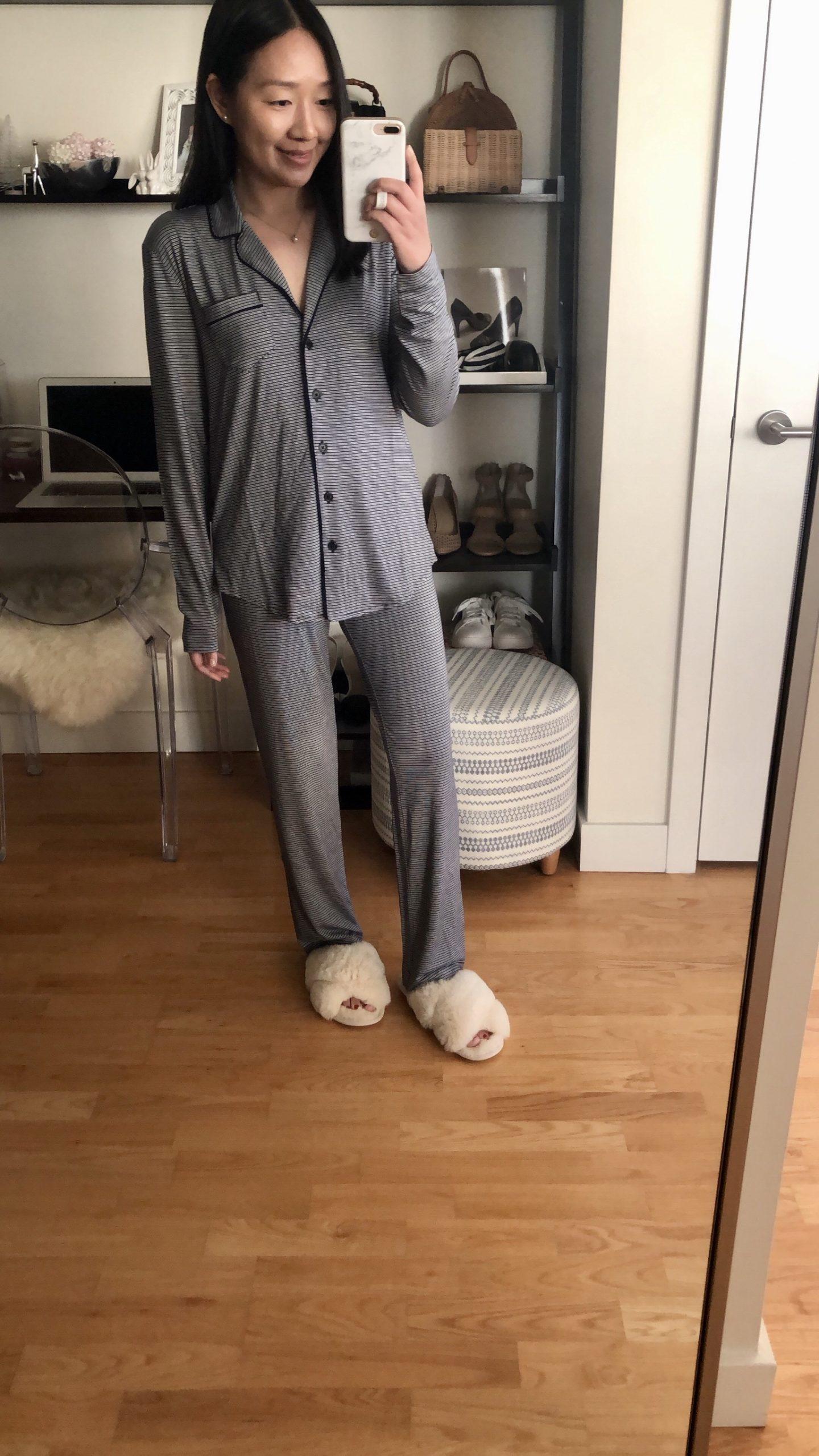 LOFT Striped Pajama Set, size XXS regular