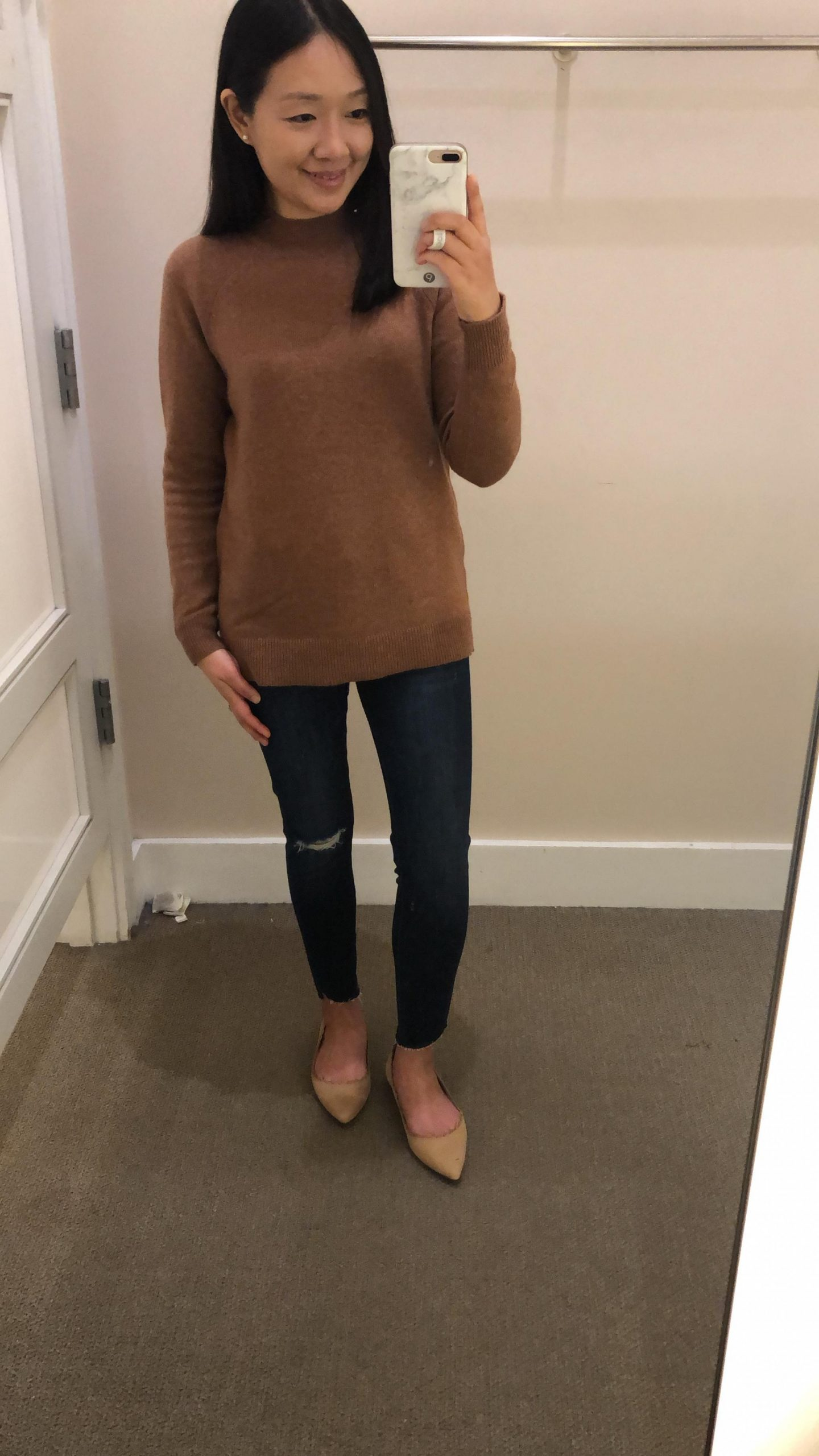 LOFT Mock Neck Sweater, size SP