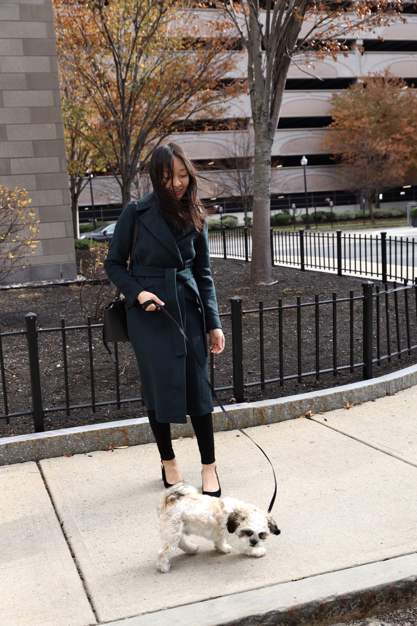 Ann Taylor Belted Trench Coat