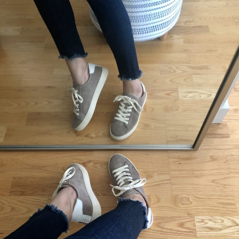 Ann Taylor Soludos Ibiza Suede Sneakers