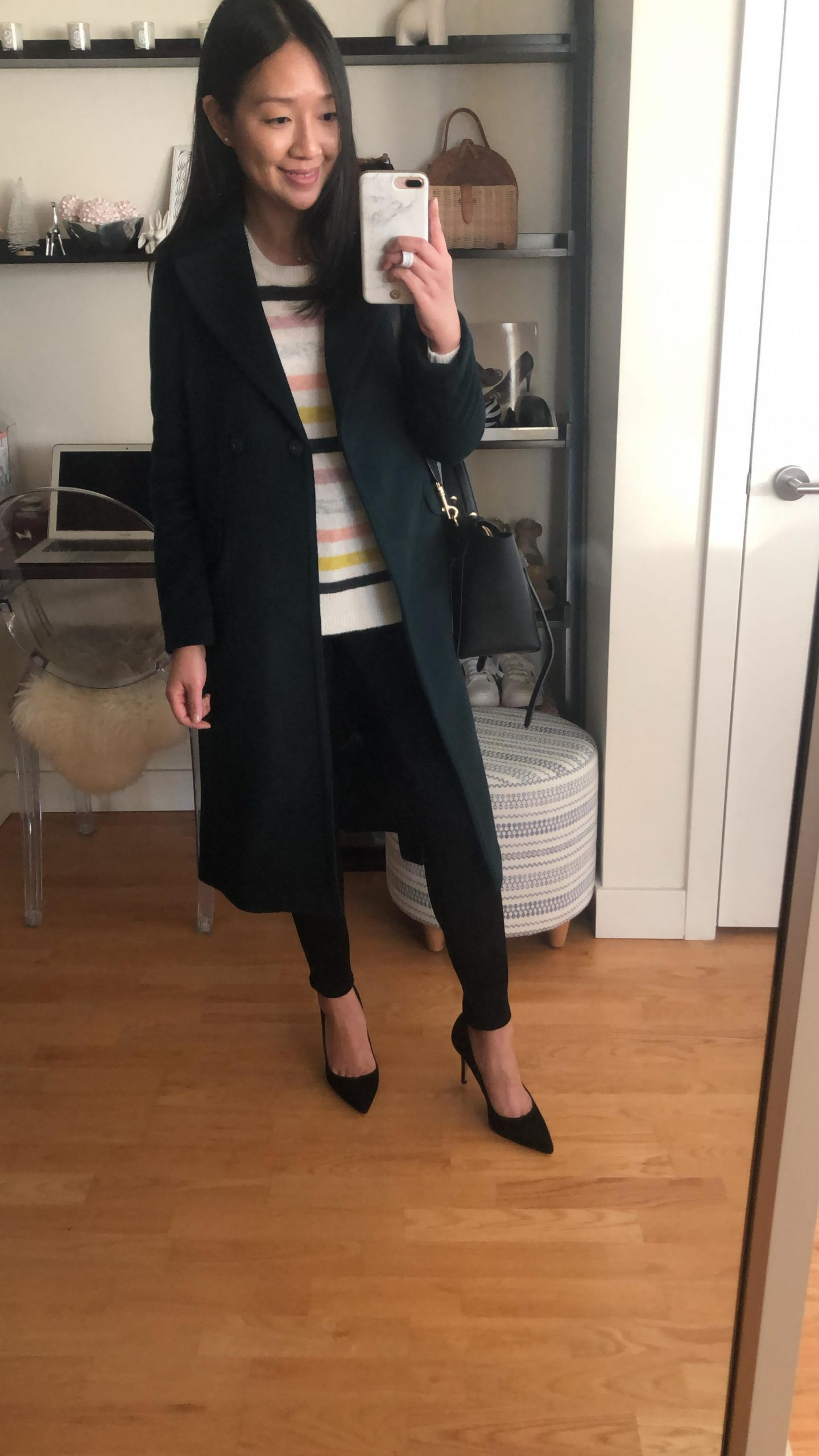 Ann Taylor Belted Trench Coat, size XXSP