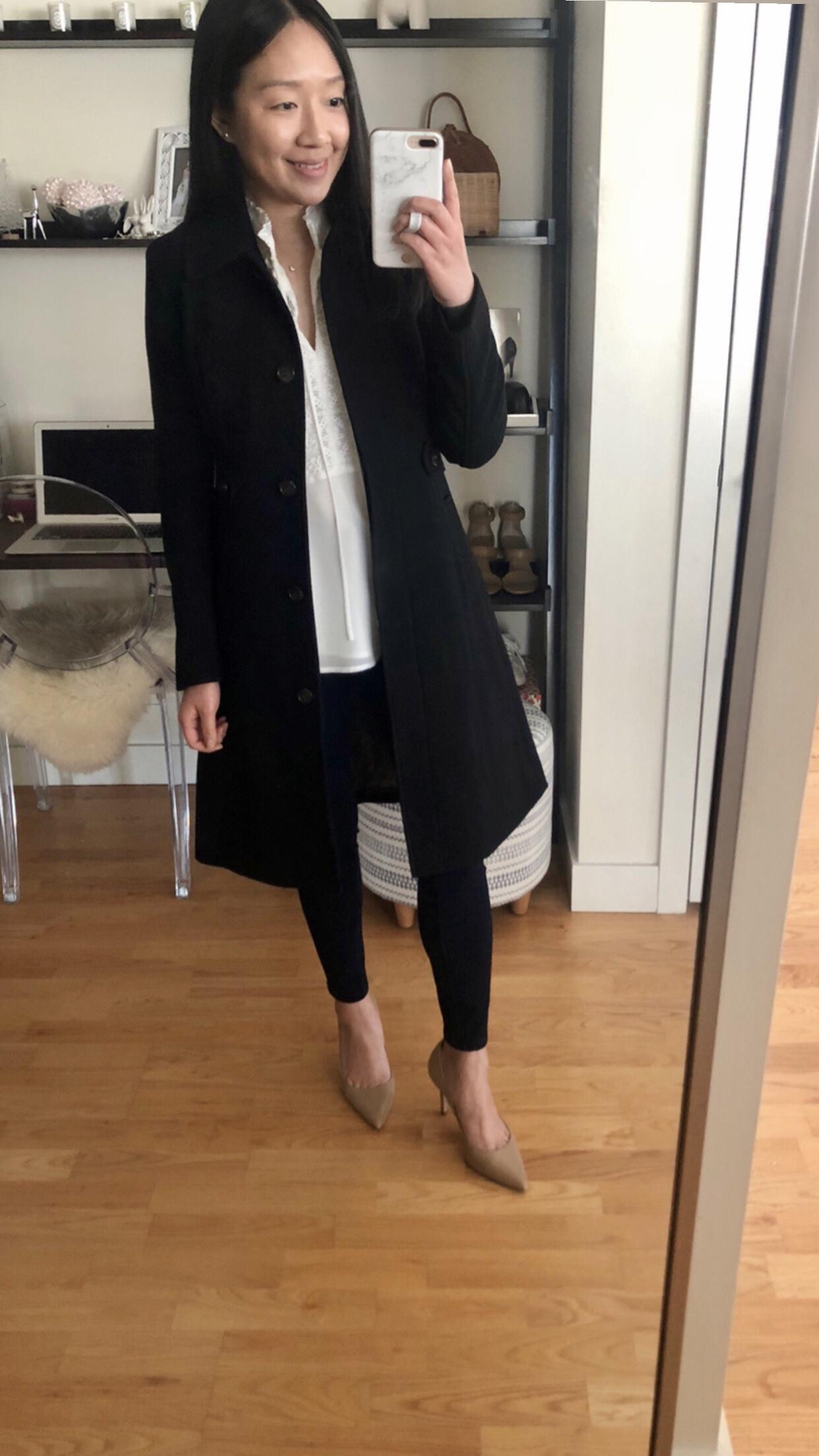 J.Crew New Lady Day Coat, size 0 regular