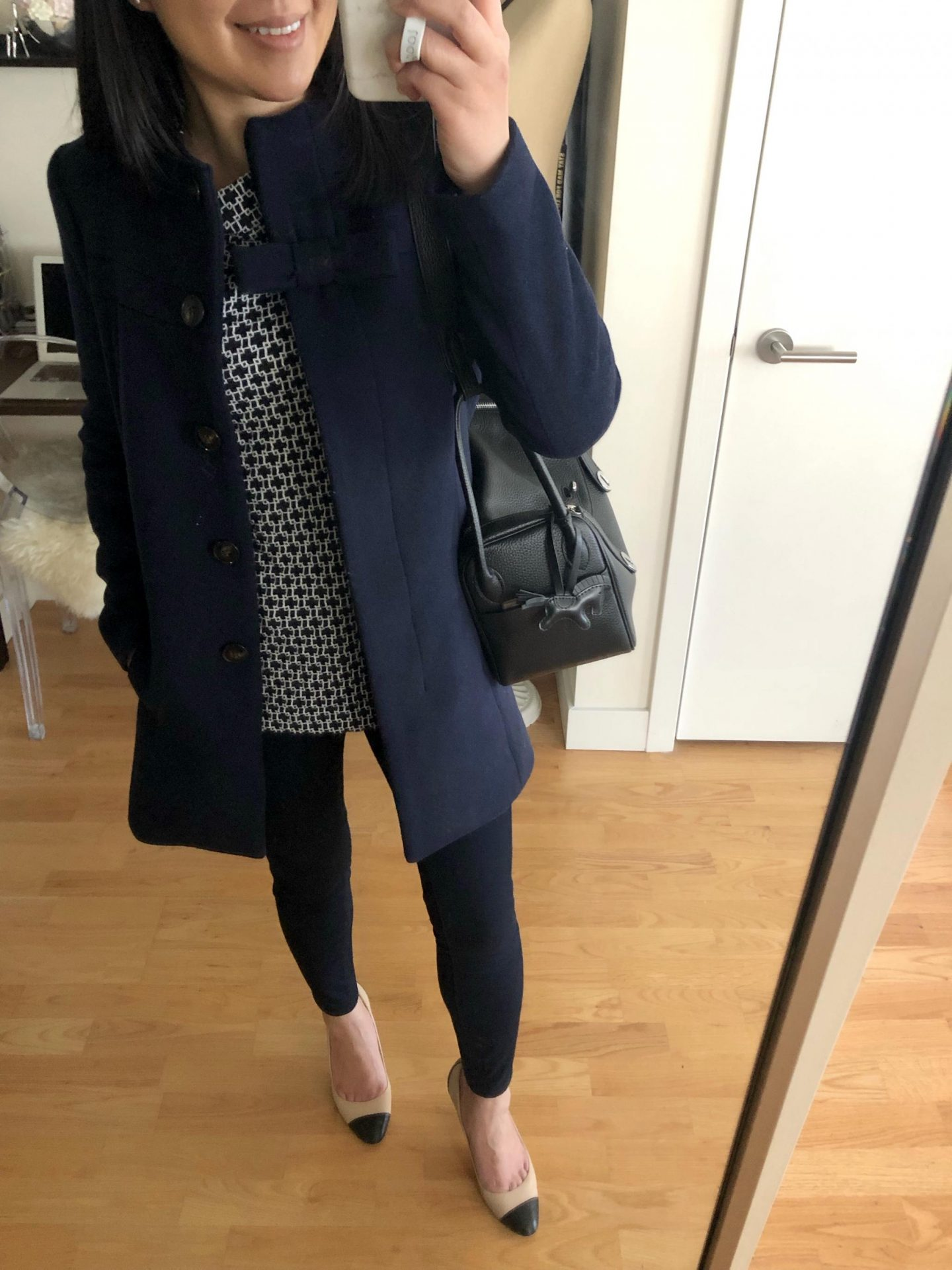 J.Crew Factory Bow Coat, size 0