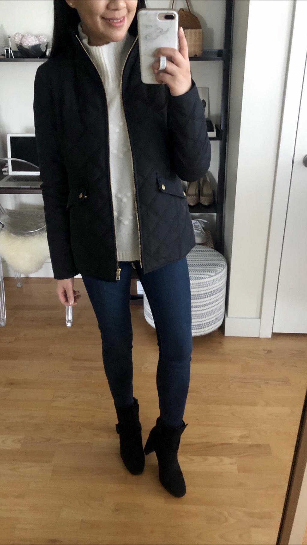 Ann Taylor Factory Lightweight Puffer Jacket