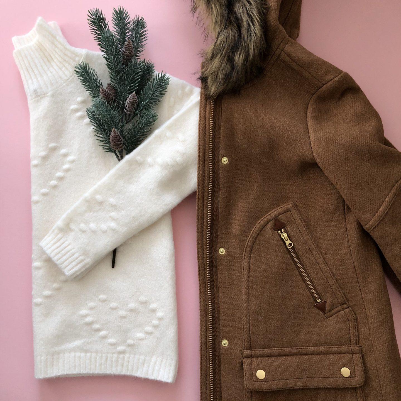 LOFT Outlet Heart Bobble Sweater, size S regular
