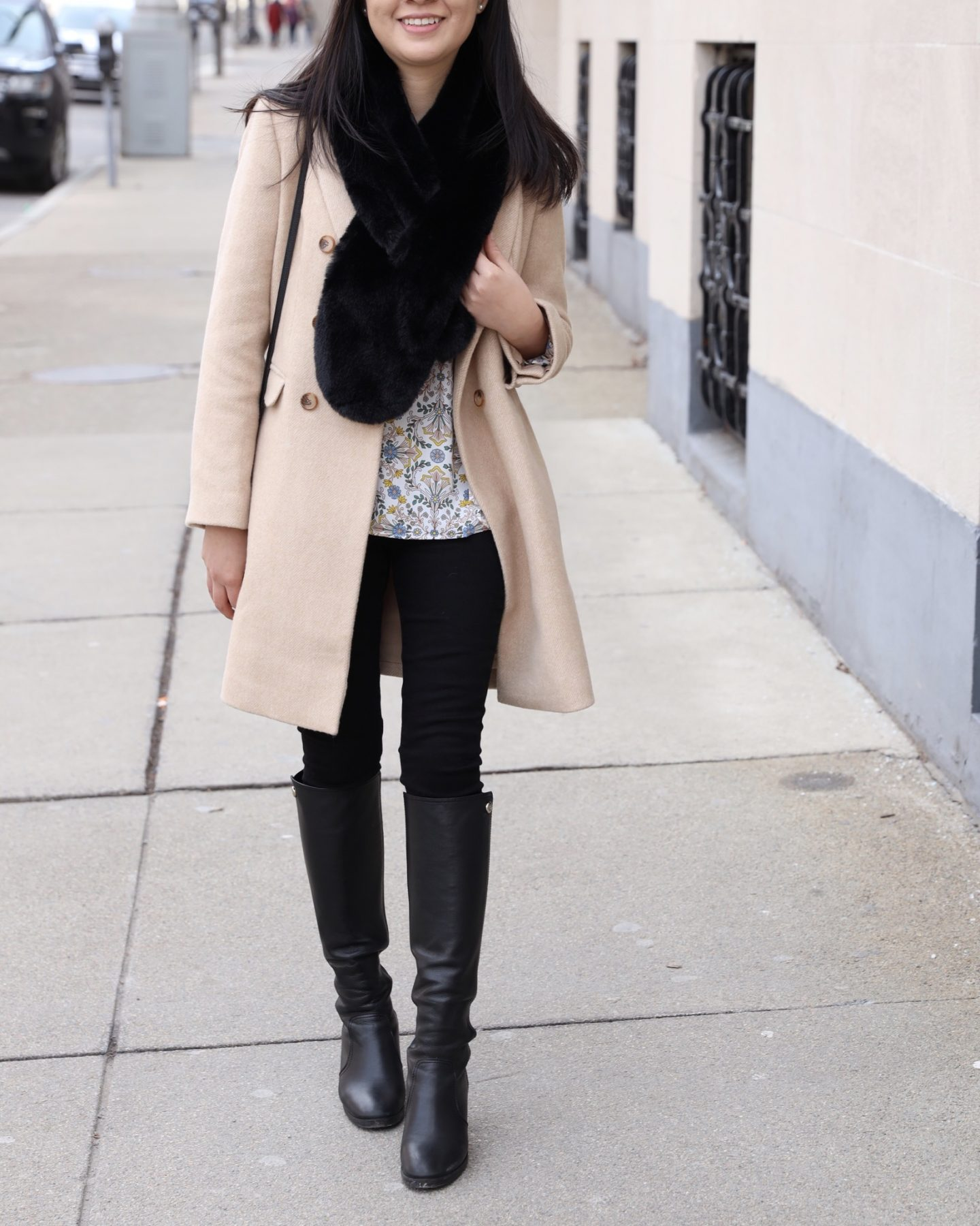 LOFT Faux Fur Stole