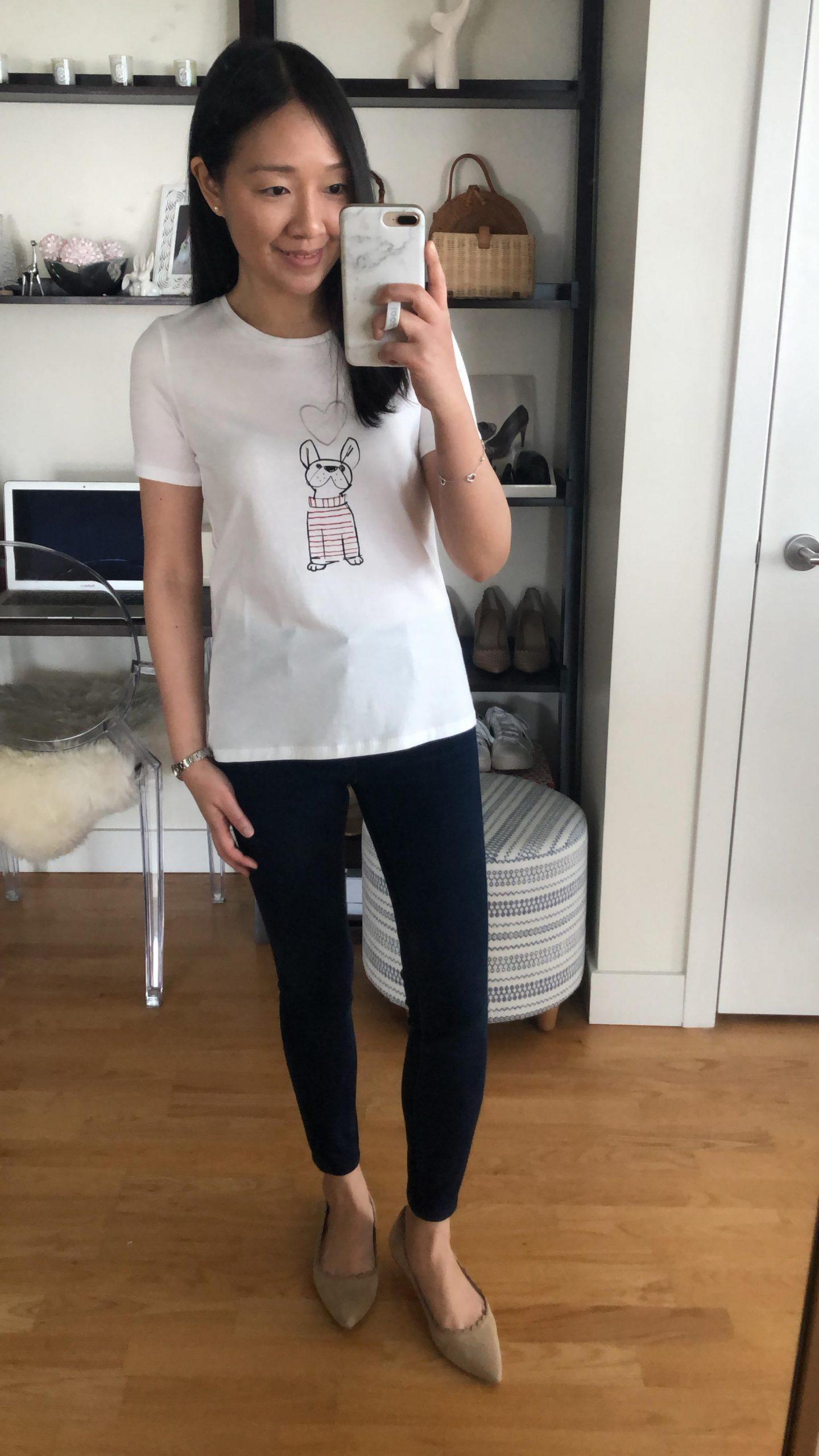 Banana Republic Graphic T-Shirt, size XXS regular