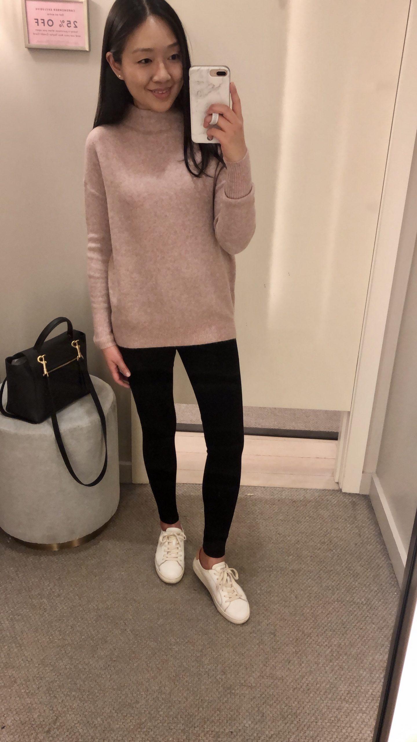 Ann Taylor Mock Neck Sweater, size XXSP