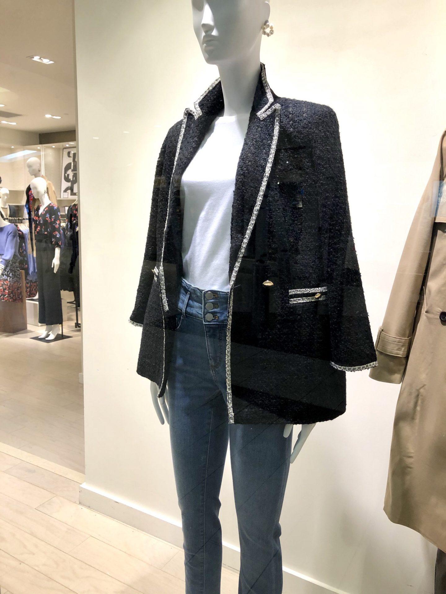 Ann Taylor Tweed Pocket Jacket