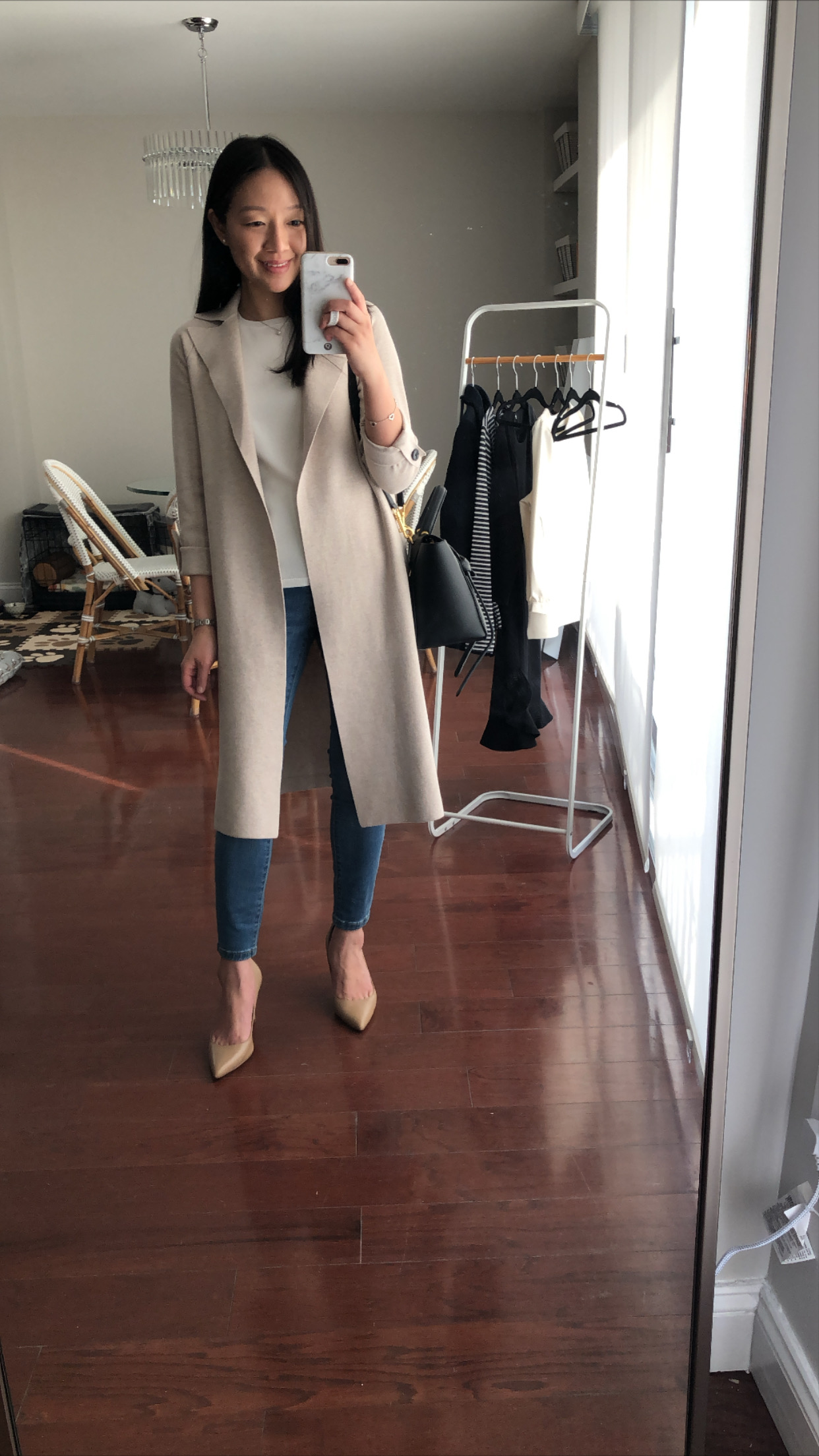 Ann Taylor Sweater Trench, size XSP