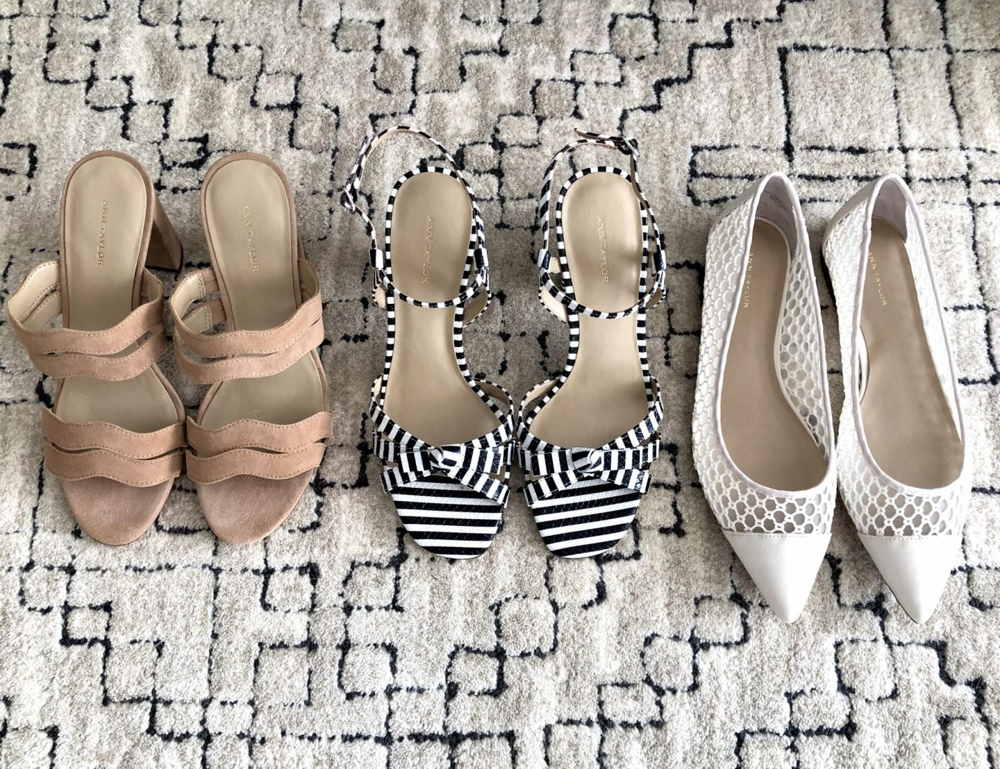 Ann Taylor Spring Shoes - New Arrivals