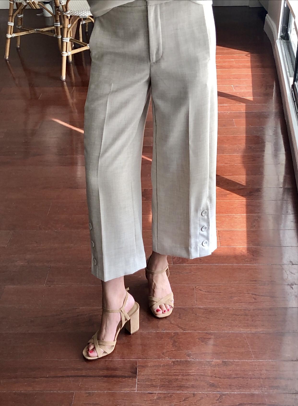 Ann Taylor Ilaria Suede Sandals