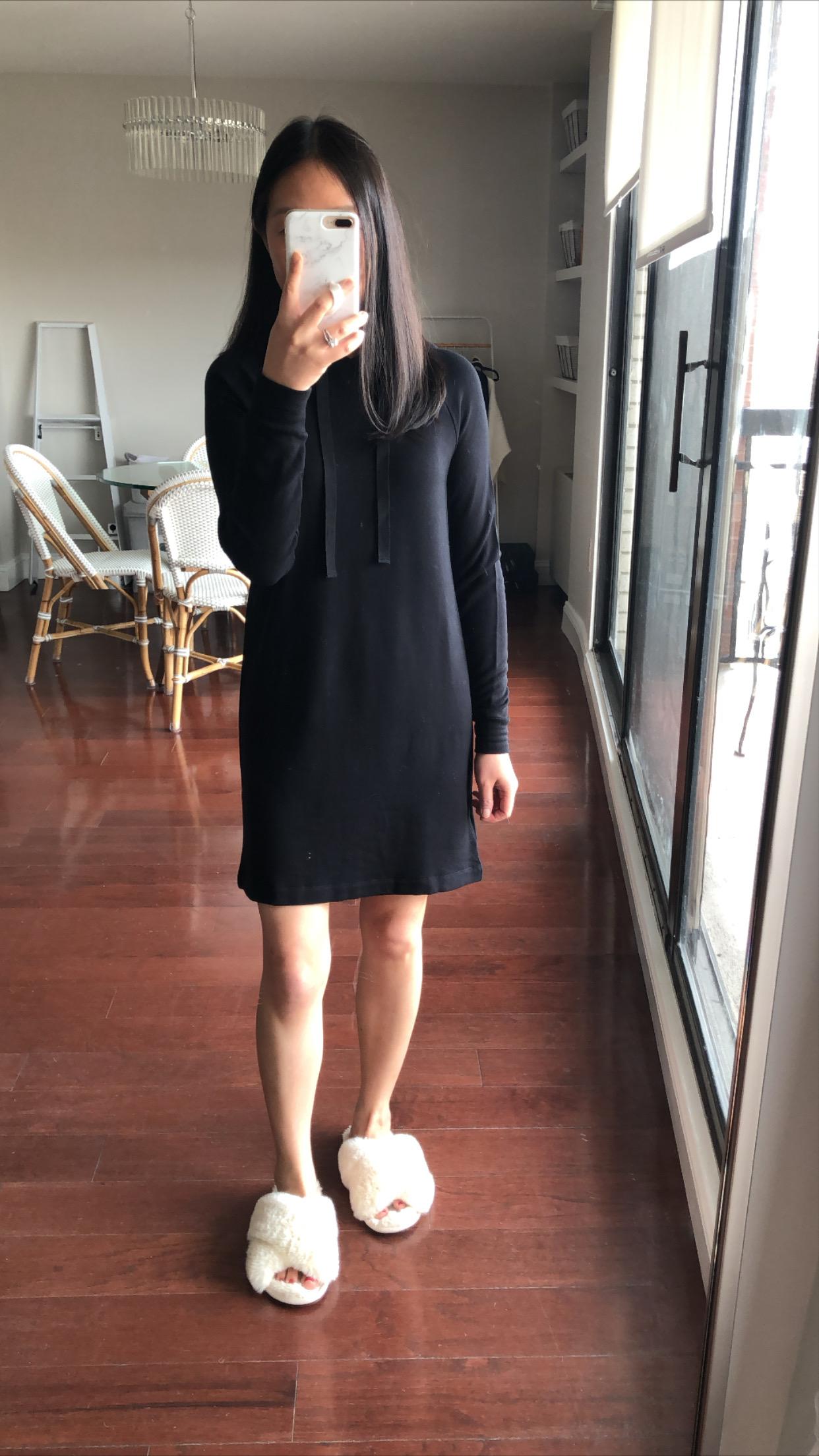 Lou & Grey Signaturesoft Hoodie Dress, size XXS