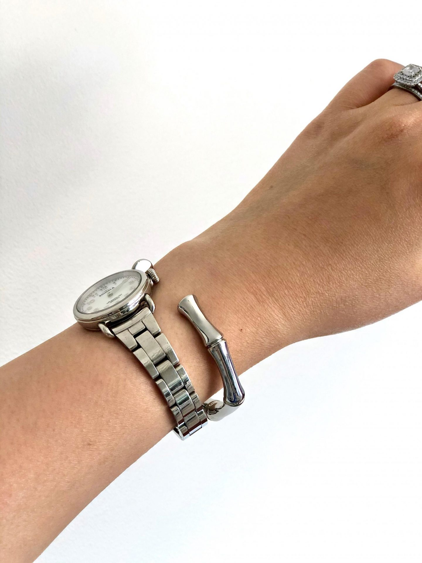 Ann Taylor Bamboo Cuff Bracelets