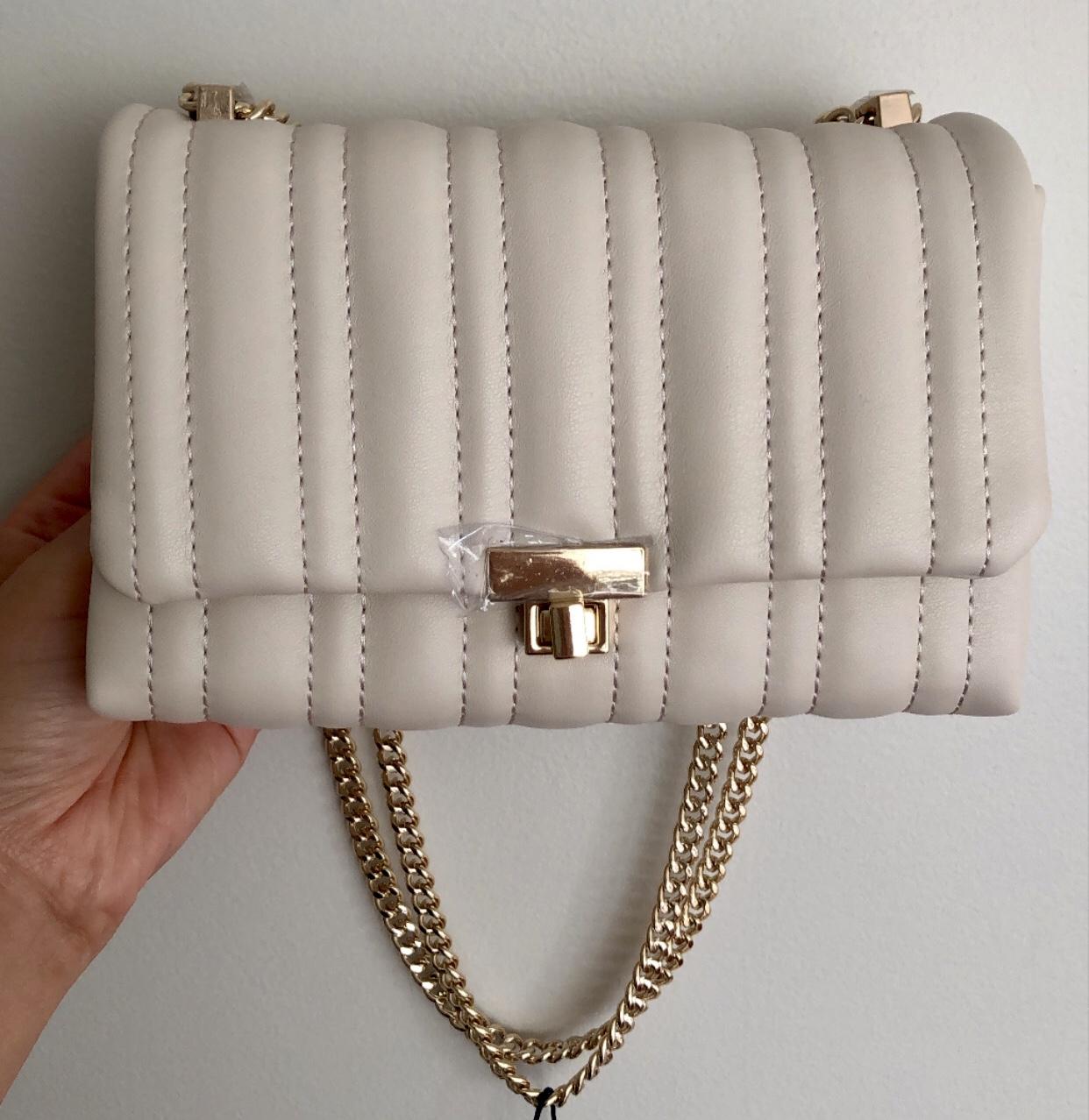 Zara Quilted Mini Crossbody Bag (ref. no. 6608/610)