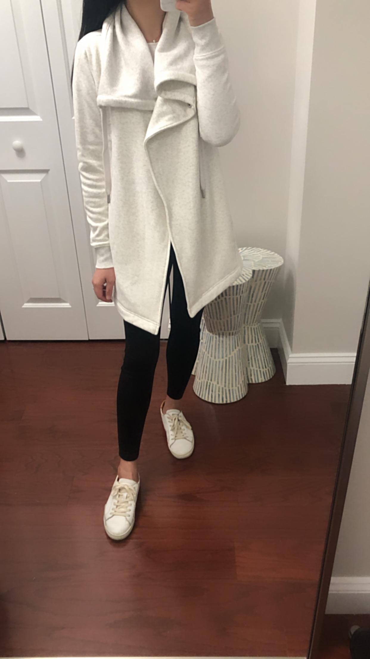 Zella Amazing Cozy Wrap Jacket, size XXS