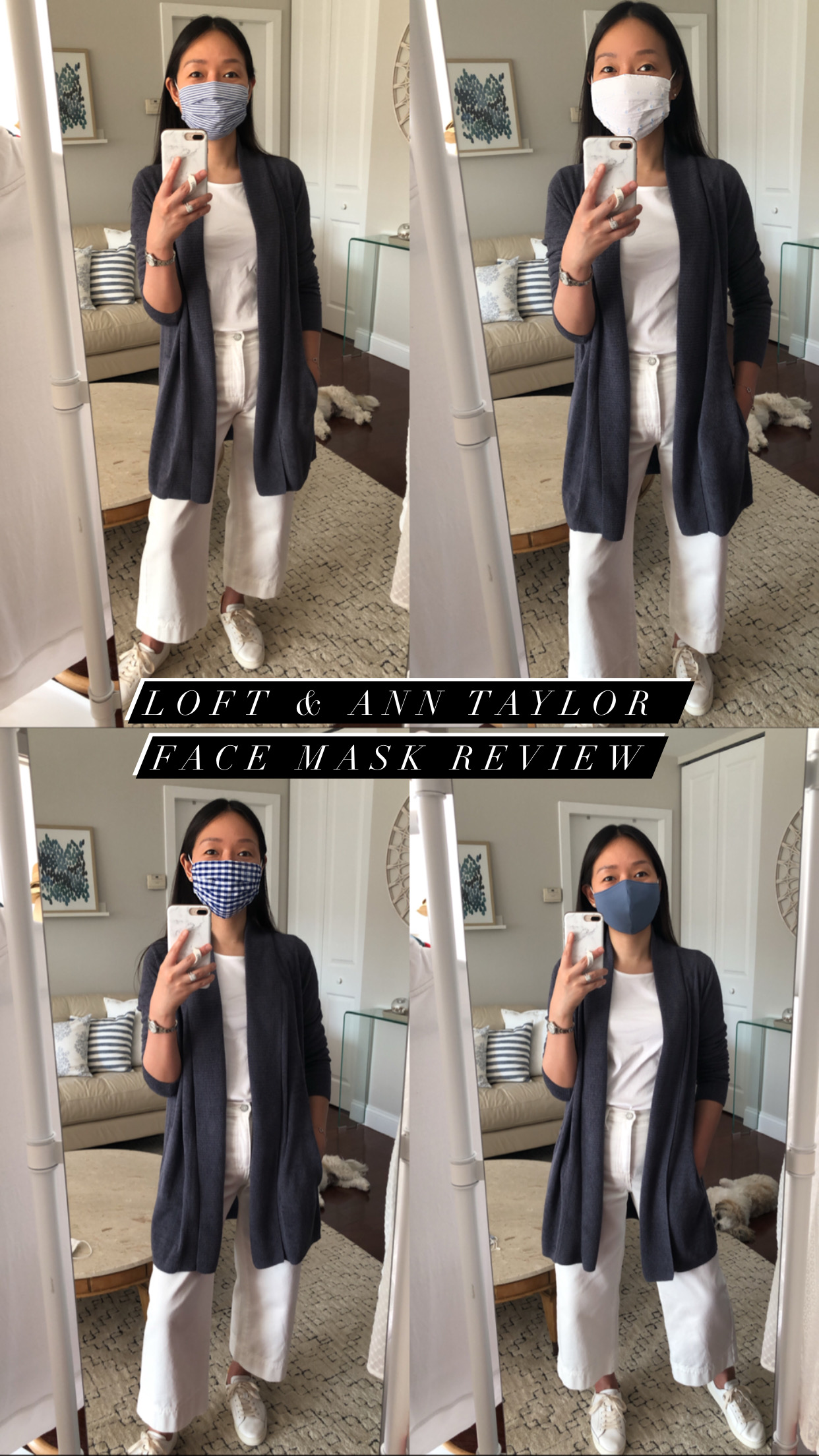 LOFT & Ann Taylor Face Mask Review
