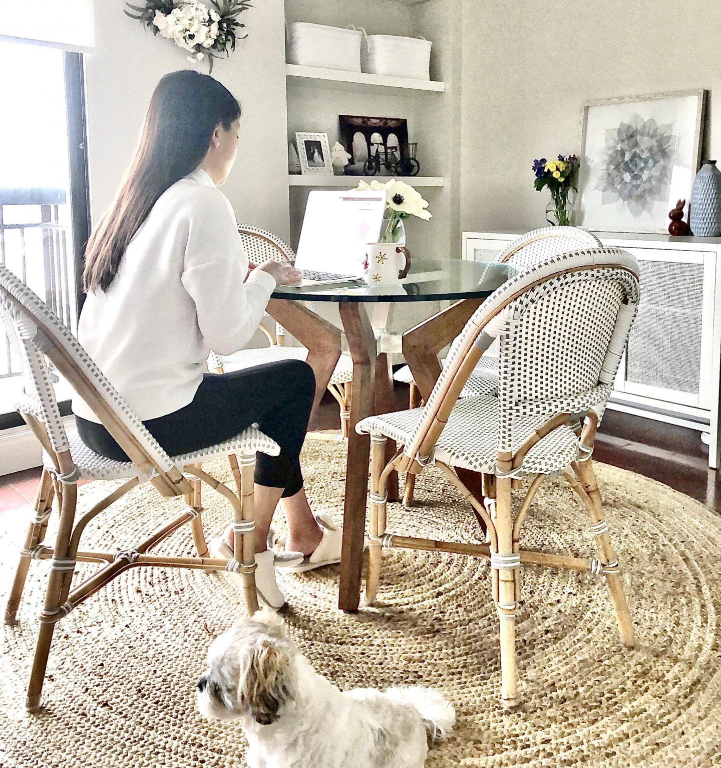 Serena & Lily Riviera Dining Chair