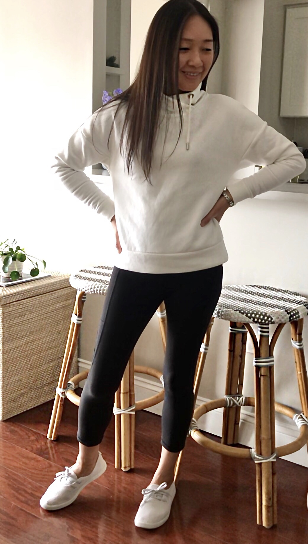 Banana Republic Funnel-Neck Sweatshirt, size XS