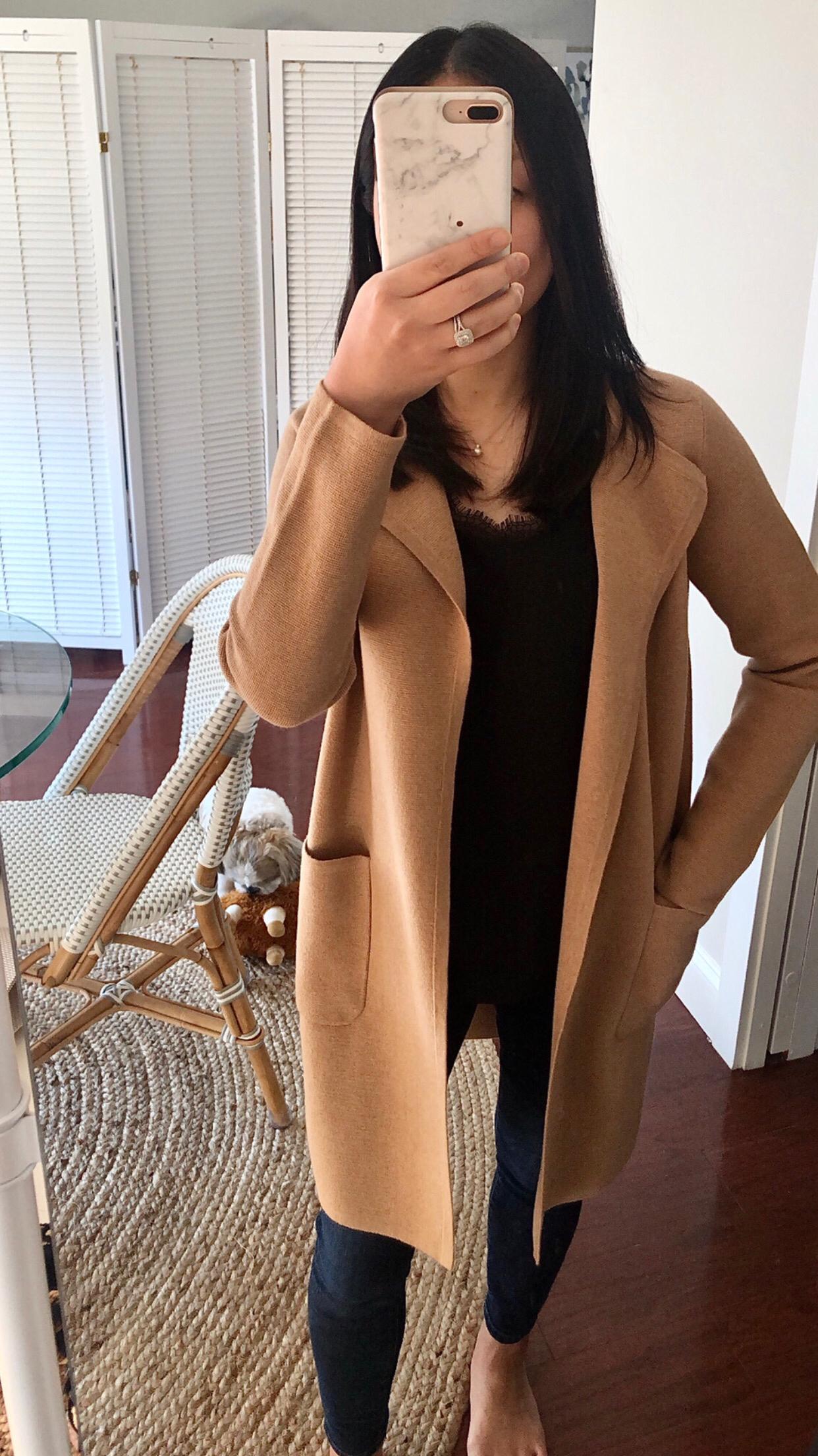 J.Crew Juliette collarless sweater-blazer, size XXS