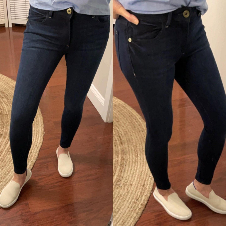 DL1961 Petite Camila Skinny Jeans, size 25P
