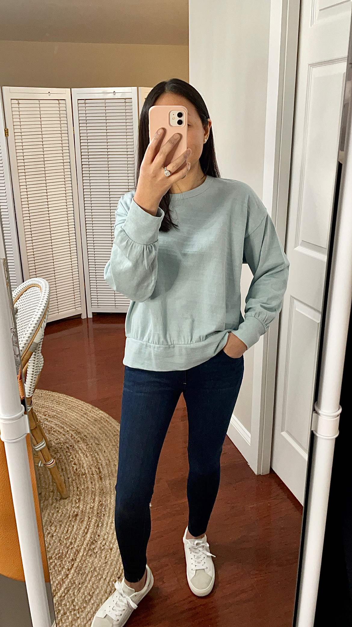 LOFT Sweatshirt Top, size XXS regular