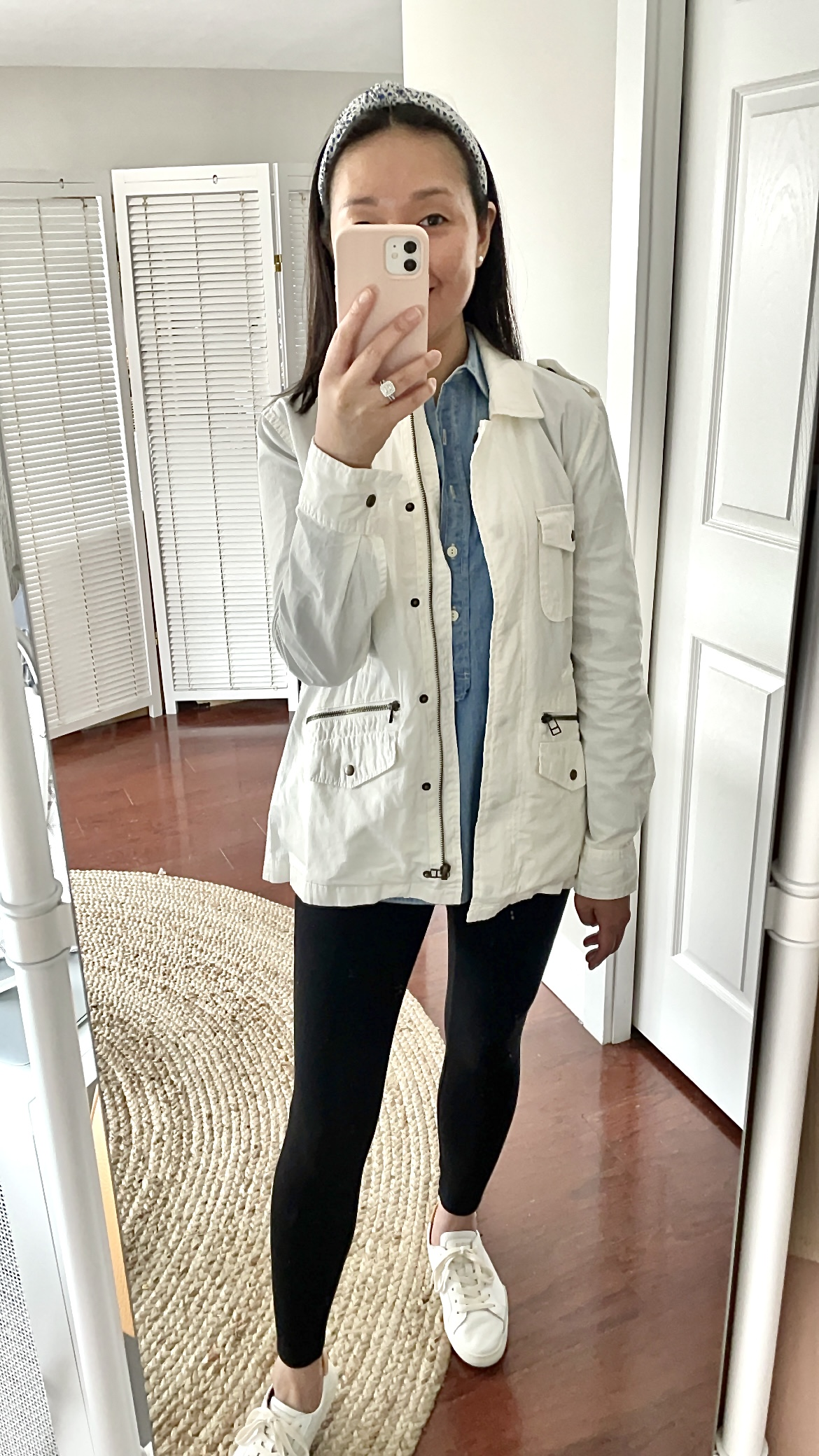 Velvet By Graham and Spencer Ruby Utility Jacket, size XS