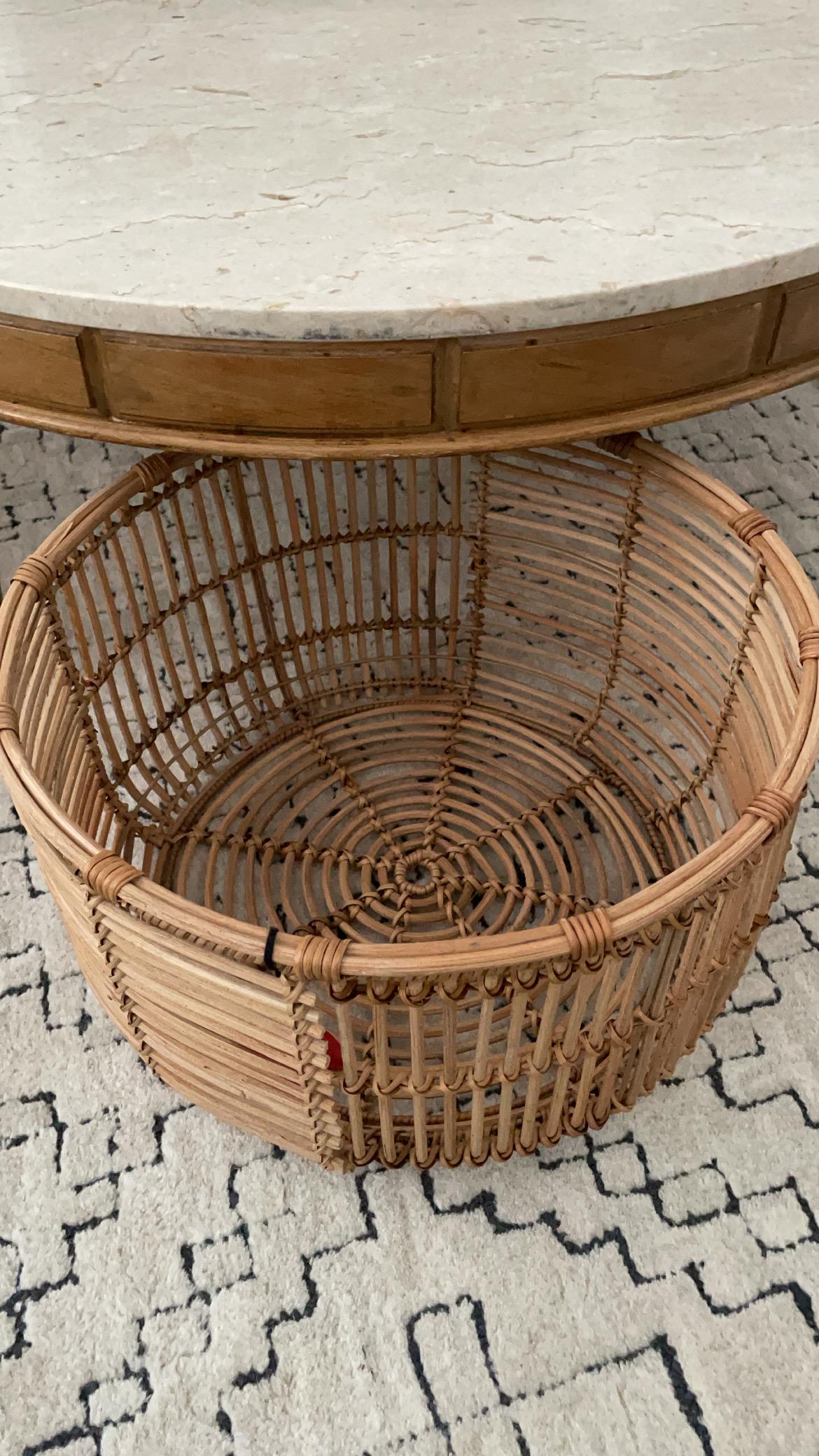 Opalhouse Rattan Basket