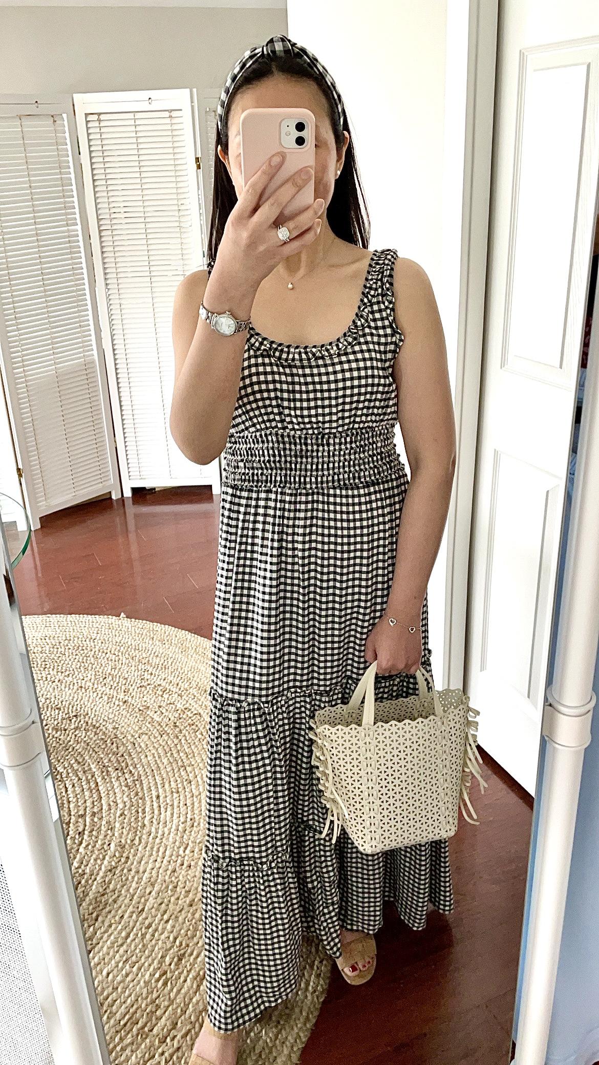 Max Studio Sleeveless Tiered Maxi Dress, size XS