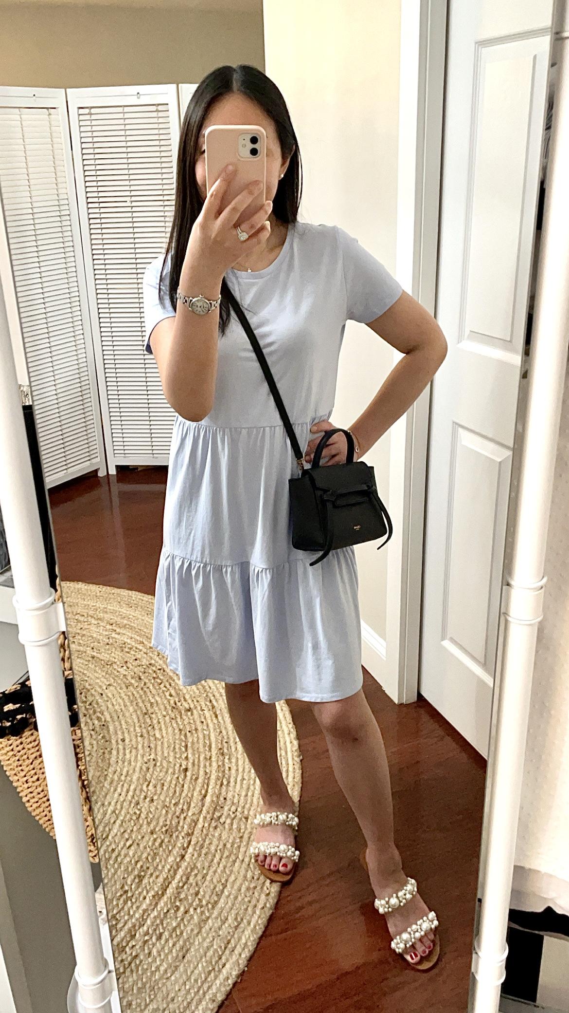 J.Crew Factory Tiered Mini Dress, size XS