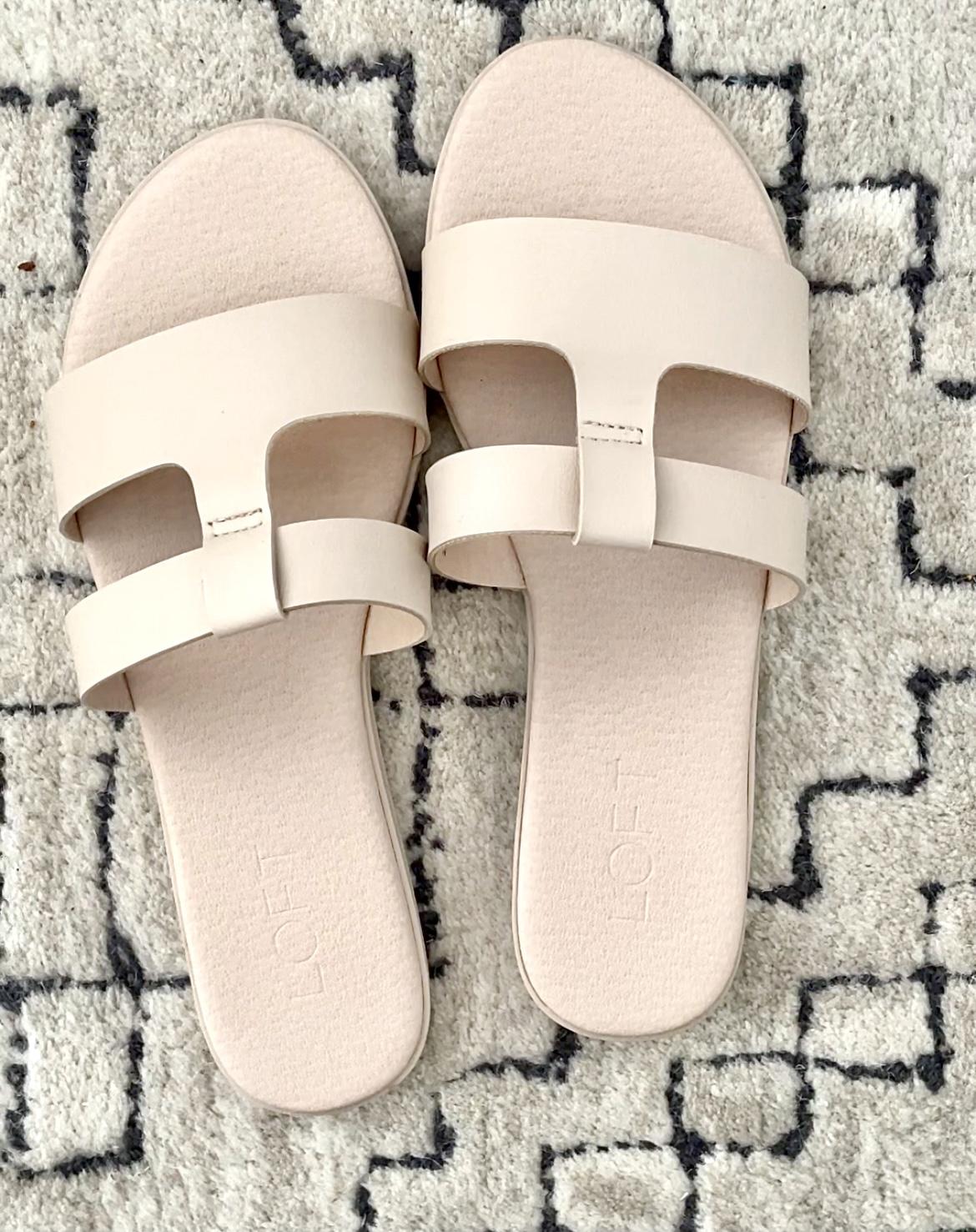LOFT Modern Slide Sandals