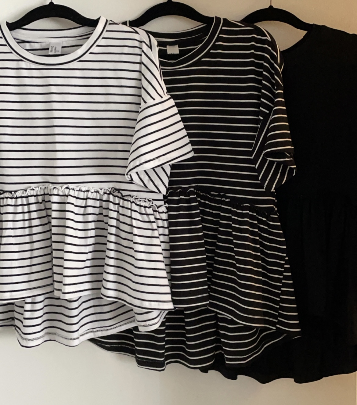 Peplum Tops all in size XS