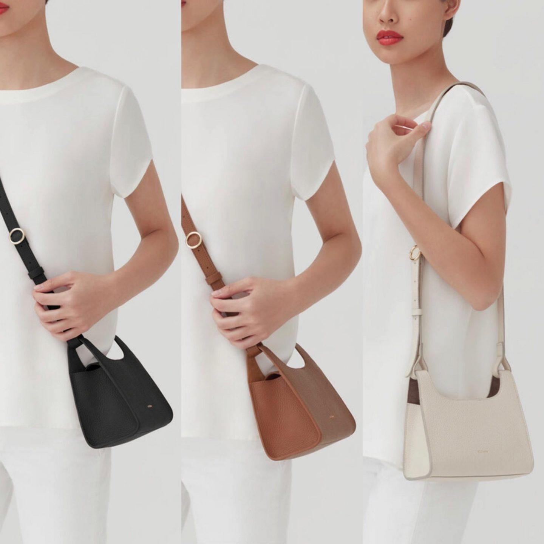 Cuyana Mini Double Loop Bag