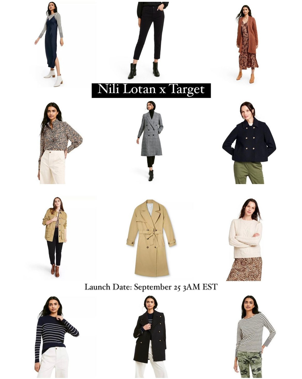 Nili Lotan X Target fall collection