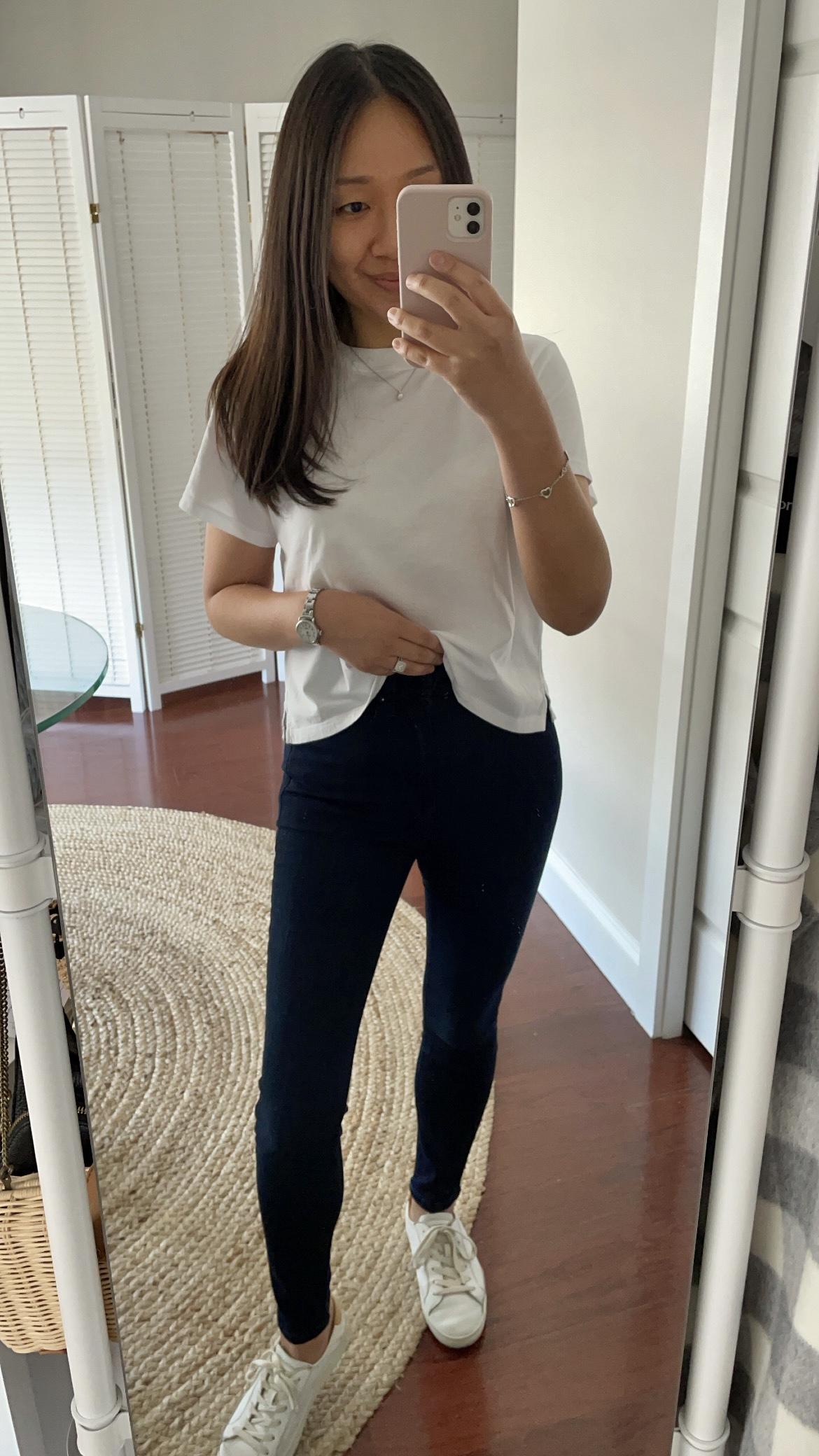 Hi-Rise Skinny in Jaguar Legs, size 25W x 26L